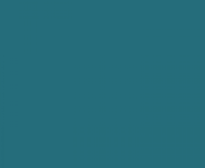 Teal blue colour block - the colour of our Sandford Hydro screws